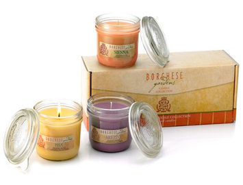 Borghese Tuscan Home Candle Collection - arezzo, Pisa & Siena