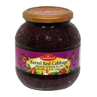 Gundelsheim Barrel Red Cabbage