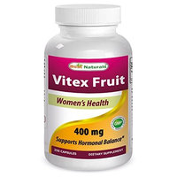 1 Vitex 400 Mg 250 Capsules By Best Naturals - Manufactured In A Usa Based Gmp Certified Facility And Third Party Teste