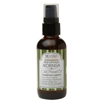 Shea Terra Organics Rwandan Moringa Oil Cold Pressed, 2 fl oz