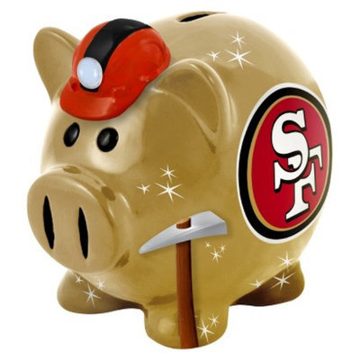Optimum Fulfillment San Francisco 49ers PiggyBank Large