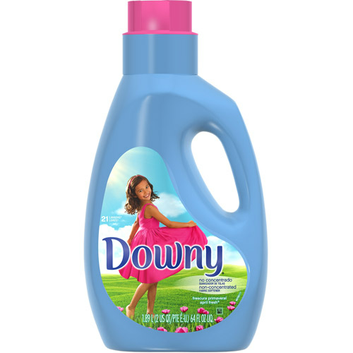 Downy Non Concentrated April Fresh Liquid Fabric Softener 21 Loads 64 Fl Oz