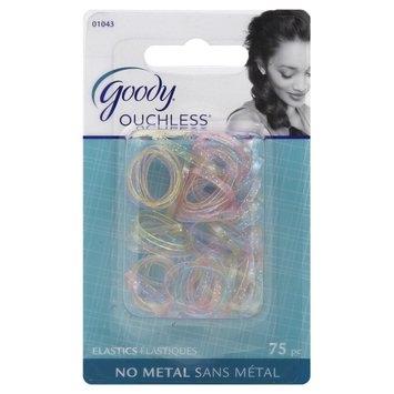 Goody Products Inc. Ouchless Elastics, No Metal, 75 elastics