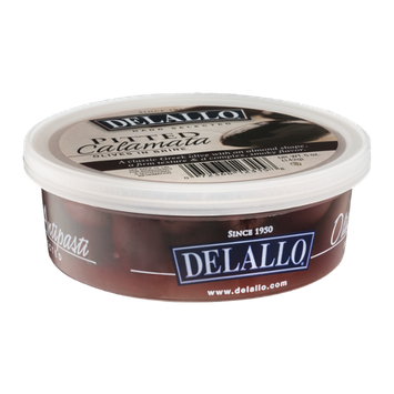Delallo Olives in Brine Pitted Calamata