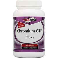 Vitacost Brand Vitacost GTF Chromium Polynicotinate as ChromeMate -- 200 mcg - 300 Capsules