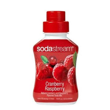 Brookstone SodaStream Sodamix Cranberry Raspberry flavor