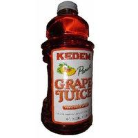Kedem BG14757 Kedem Peach Grape Juice - 8x64OZ