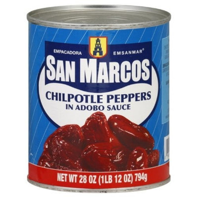 San Marcos Chipotle Pepper, 28-Ounce (Pack of 3)