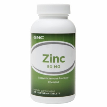 GNC Zinc 50, Vegetarian Tablets, 250 ea