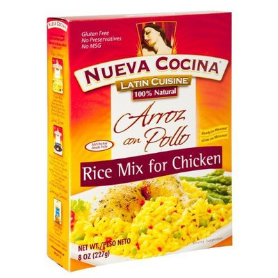 Nueva Cocina Rice Mix for Chicken, 8-Ounce Units (Pack of 6)