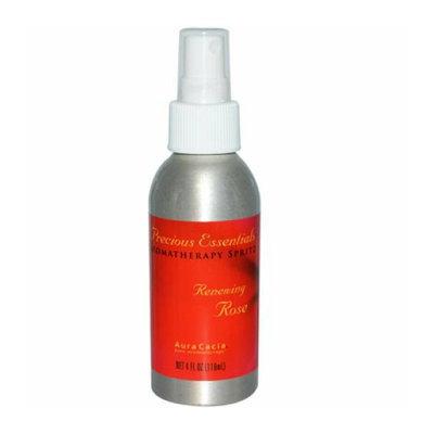 Aura Cacia Precious Essentials Aromatherapy Spritz Renewing Rose 4 fl oz