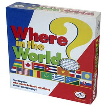 Where in The World Geography Game Ages 8+