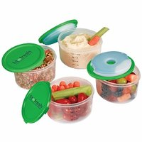 Fit & Fresh Smart Portion 1 C. Chill Container Set