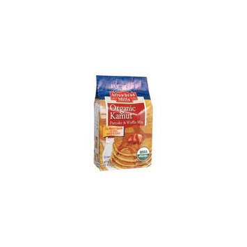 Arrowhead Mills Organic Kamut Pancake and Waffle Mix, 26 Ounce Bags (Pack of 6)
