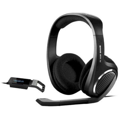 Sennheiser Over-the-Ear Headset PC 323D With Enhanced Bass - Black -