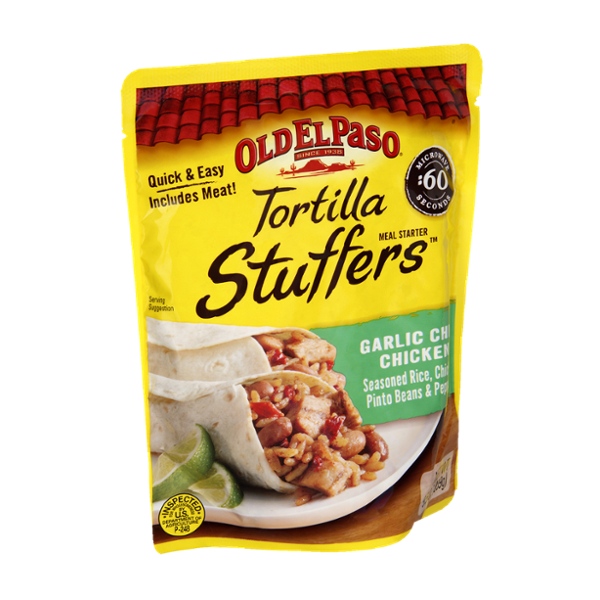 Old El Paso Garlic Chili Chicken Tortilla Stuffers
