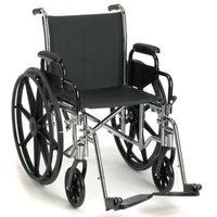 Sunrise Medical Breezy EC 3000 Standard Wheelchair Seat Size: 16