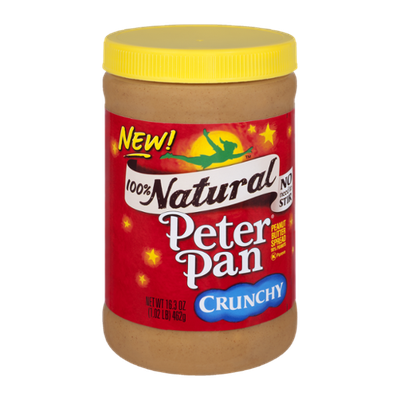 Peter Pan 100% Natural Crunchy Peanut Butter