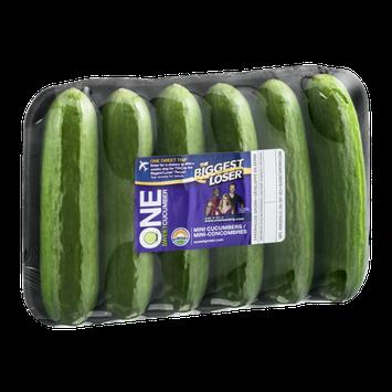 Sunset One Sweet Cucumber Mini-Cucumbers - 6 CT