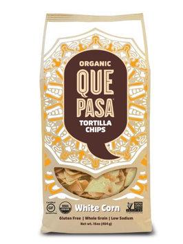 Que Pasa Organic Corn Yellow Tortilla Chips (12x12/16 Oz)
