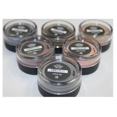 Bare Escentuals bare Minerals 6 Velvet Eyecolors .57g Sea/Coconut/Sand/Shell/Wildflower/Fog
