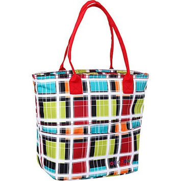J World New York Lola Insulated Lunch Tote Colorstrip - J World New York Travel Coolers