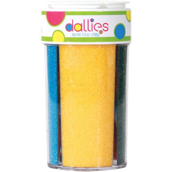 Xcell International Corp Dallies 4 in 1 Sanding Sugars, 7 oz