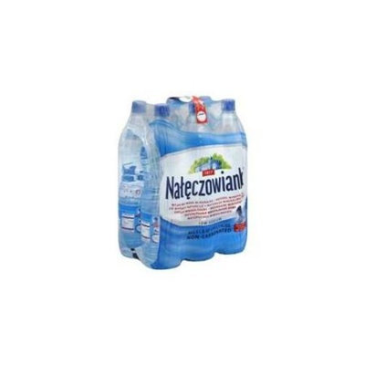 Naleczowianka Water Natural Mineral Low Sodium Non-Carbonated 50. 7 Oz
