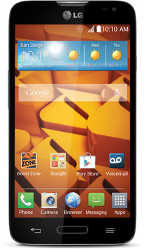 Boost Mobile - Lg Realm No-contract Cell Phone - Black