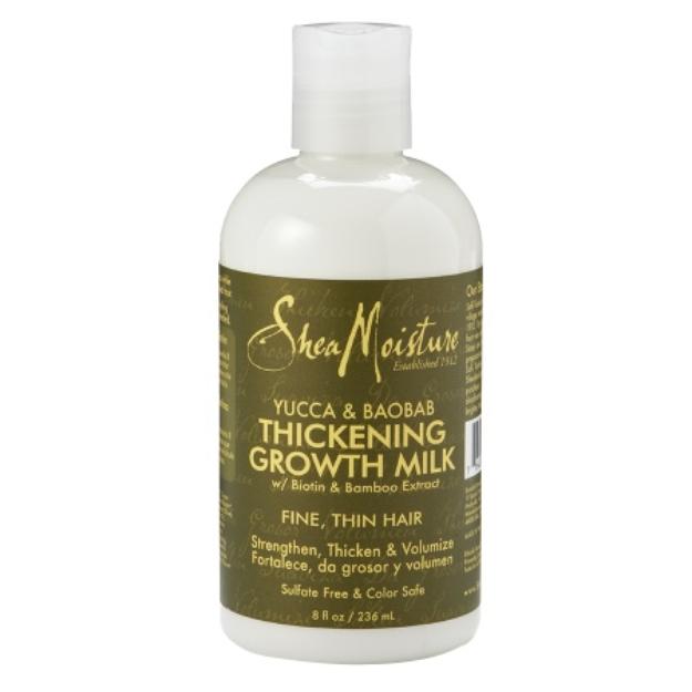 SheaMoisture Organic Hair Thickening Growth Milk