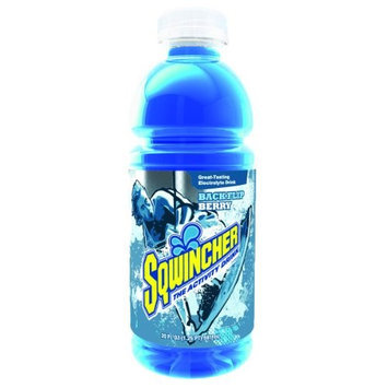 SQWINCHER 030530-MB Sports Drink, Mixed Berry, PK24