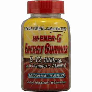 Windmill Health Products Hi-Ener-G Gummies B-12 with B Complex and Vitamin C Multi-Fruit 90 Gummy Dr