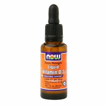 NOW Foods Liquid Vitamin D-3 1000 IU