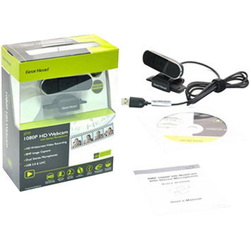 Gear Head 8MP 1080p Webcam
