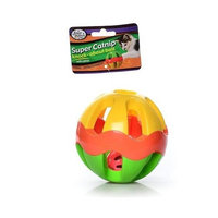 Drs. Foster   Smith Four Paws Pet Products CFP01674 Plastic Super Catnip Knock About Ball, 5-Inch