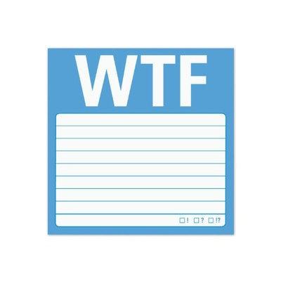 Knock Knock Wtf: Sticky Note [WTF]