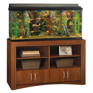 Top FinA Four Door Cabinet Aquarium Stand