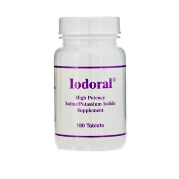 Optimox Iodoral High Potency Iodine Potassium Iodide Thyroid Support Supplement 180 tablets