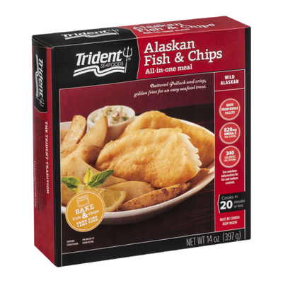 Trident Seafoods Alaskan Fish & Chips
