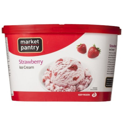 market pantry MP ICE CREAM 48-OZ STRAWBERRY