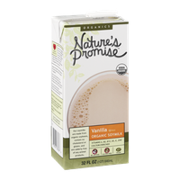 Nature's Promise Organics Vanilla Organic Soymilk