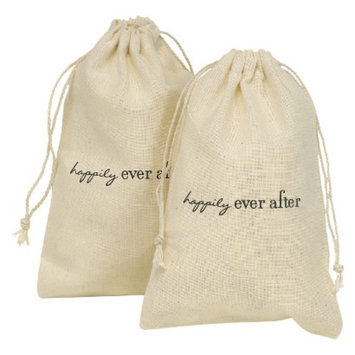 Hortense B. Hewitt Happily Ever After Favor Bags - Cream