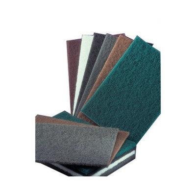 Norton Bear-Tex Hand Pads - 6x9 non-abrasive light duty cleaning pad 10/bx