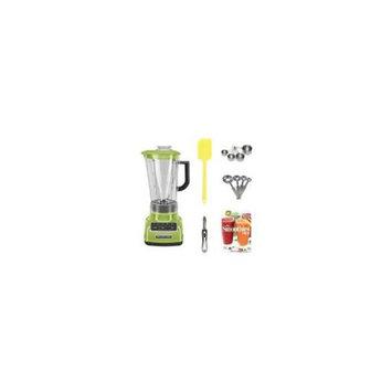 KitchenAid KSB1575 5-Speed Diamond Blender with 60-Ounce BPA-Free Pitcher (Green