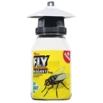 Victor Fly Magnet Trap With Bait 1 Quart M380 by Woodstream
