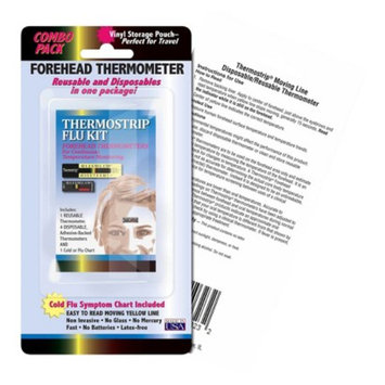 Quest Hallcrest Thermostrip Thermometer Flu Kit