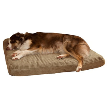PAW Orthopedic Super Foam Pet Bed, Jumbo, Clay, 1 ea
