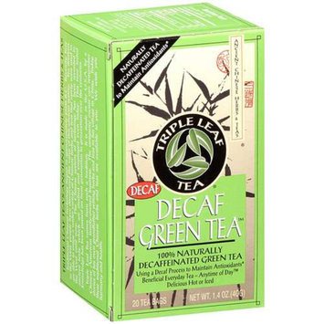 Triple Leaf Tea Naturally Decaffeinated