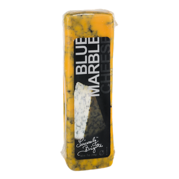 Sincerely Brigitte Cheddar Cheese Blue Marbled