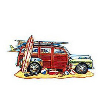 SunsOut Surfin Woody 1000 Piece Puzzle Ages 9+